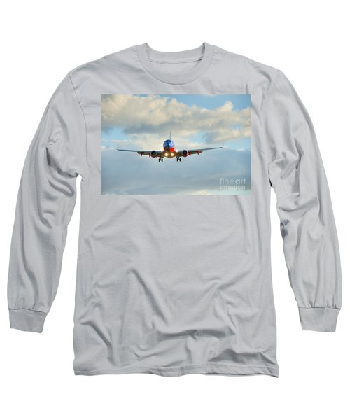 Southwest Airline Landing Gear Down Long Sleeve T-Shirt