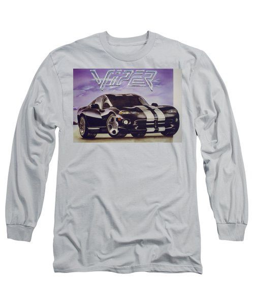 Speed At A Standstill Long Sleeve T-Shirt by Thomas J Herring