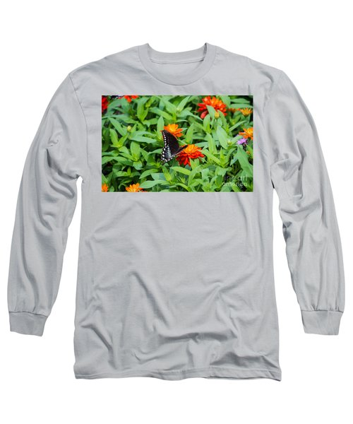 Spicebush Swallowtail Long Sleeve T-Shirt