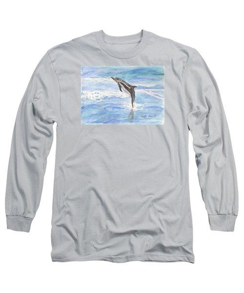 Spinner Dolphin Long Sleeve T-Shirt