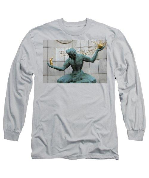 Spirit Of Detroit Long Sleeve T-Shirt