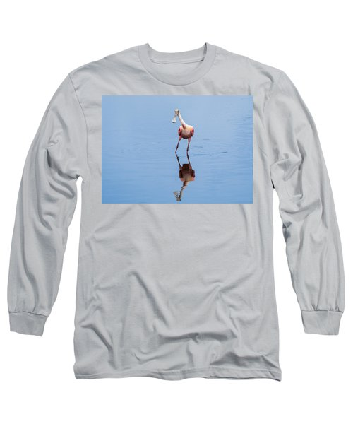 Long Sleeve T-Shirt featuring the photograph Spoonie Striking A Pose by John M Bailey