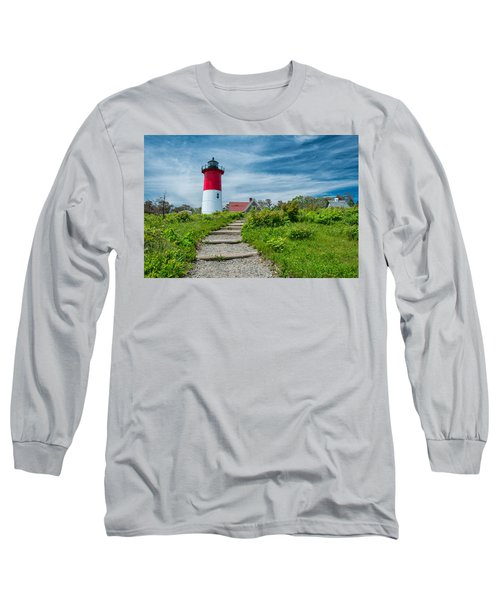 Spring At Nauset Light Long Sleeve T-Shirt