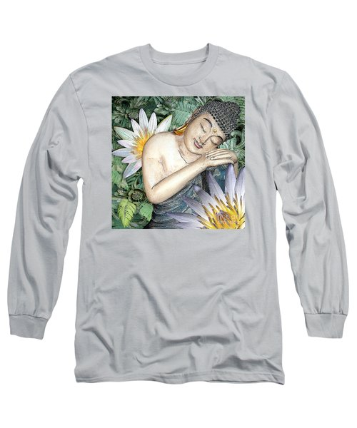 Spring Serenity Long Sleeve T-Shirt by Christopher Beikmann