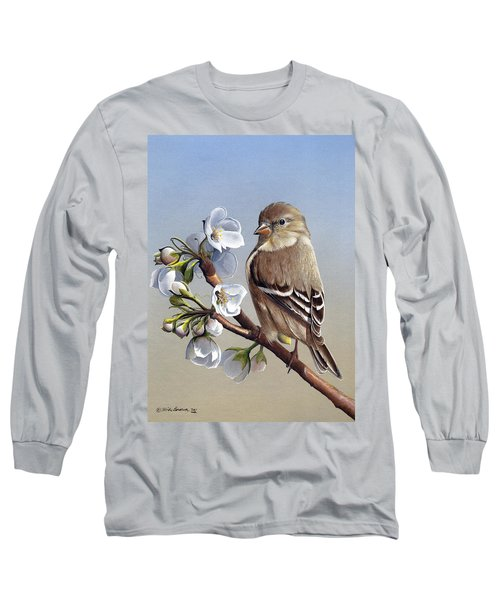 Long Sleeve T-Shirt featuring the painting Spring Splendor by Mike Brown