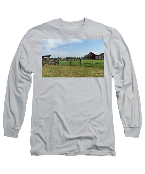 Springtime Serenity Long Sleeve T-Shirt by Susan Williams