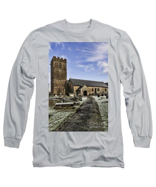 St Gwendolines Church Talgarth 4 Long Sleeve T-Shirt