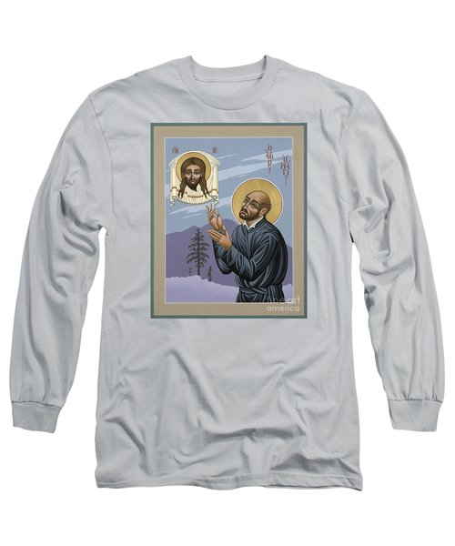 St. Ignatius Amidst Alaska 141 Long Sleeve T-Shirt by William Hart McNichols