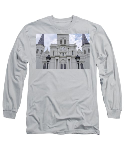 St. Louis Cathedral Close-up Long Sleeve T-Shirt