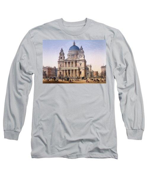St Pauls Cathedral Long Sleeve T-Shirt