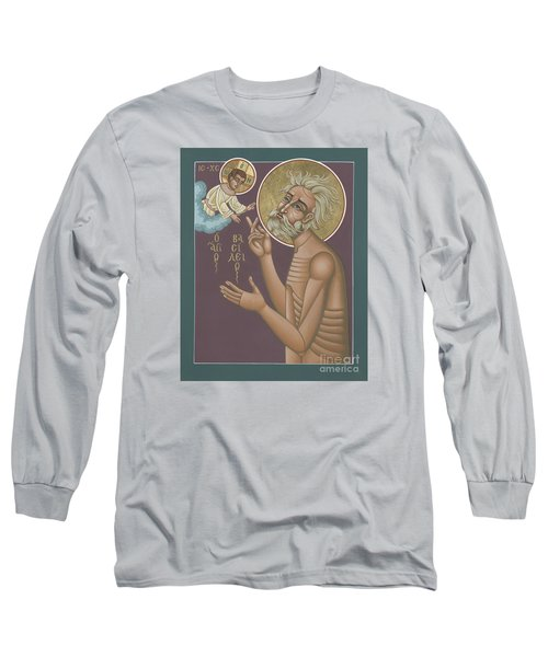 Long Sleeve T-Shirt featuring the painting St. Vasily The Holy Fool 246 by William Hart McNichols
