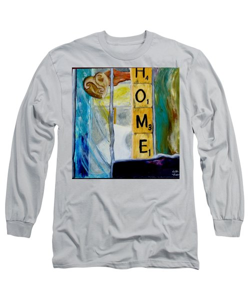 Stained Glass Home Long Sleeve T-Shirt
