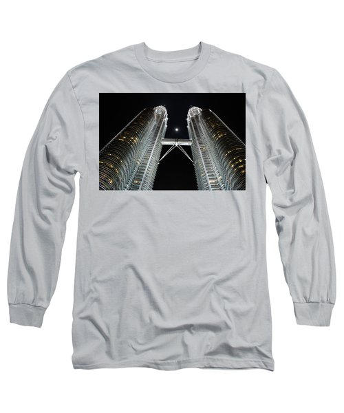 Stainless Steel Moon Long Sleeve T-Shirt