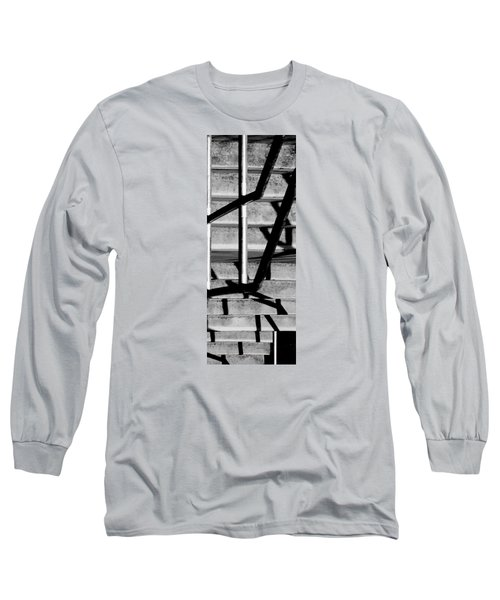 Stairs Long Sleeve T-Shirt by Caitlyn  Grasso