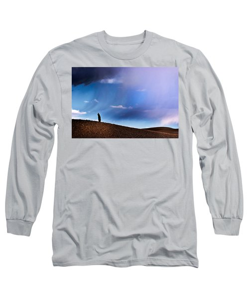 Standing Against The Wind Long Sleeve T-Shirt
