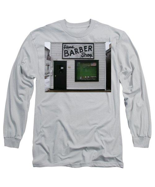 Stans Barber Shop Menominee Long Sleeve T-Shirt