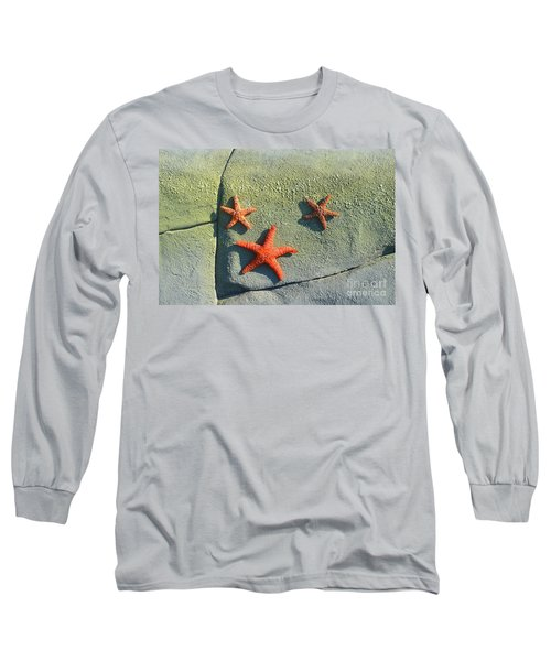 Starfish On The Rocks Long Sleeve T-Shirt