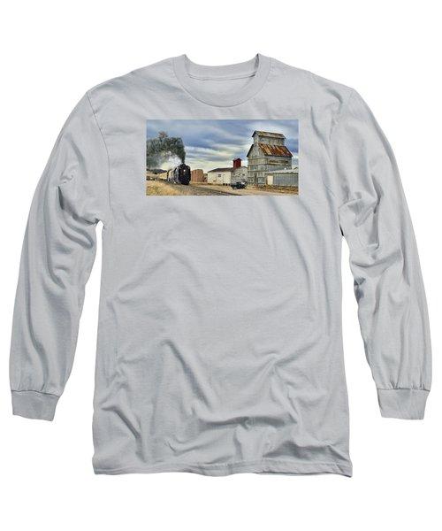 Steam In Castle Rock Long Sleeve T-Shirt by Ken Smith