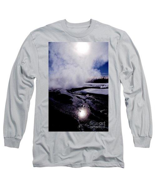 Steam Long Sleeve T-Shirt by Sharon Elliott
