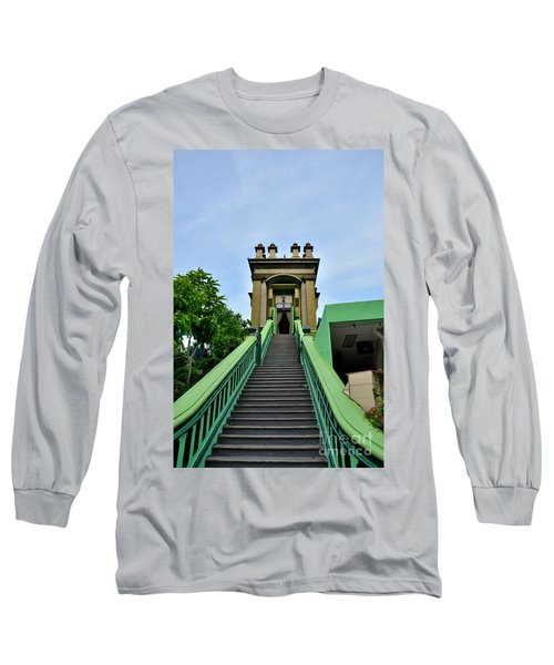 Steps To Muslim Mystic Shrine Singapore Long Sleeve T-Shirt by Imran Ahmed
