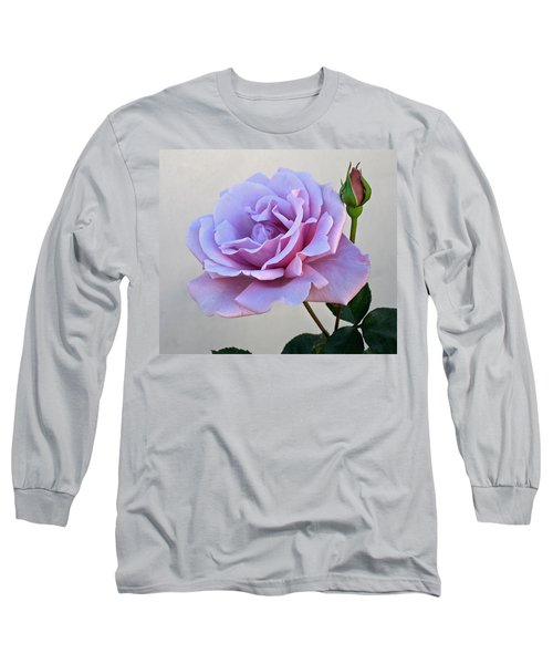 Sterling Silver Long Sleeve T-Shirt by Jay Milo