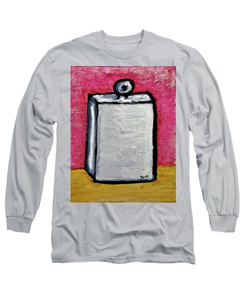 Long Sleeve T-Shirt featuring the painting Stills 10-004 by Mario Perron