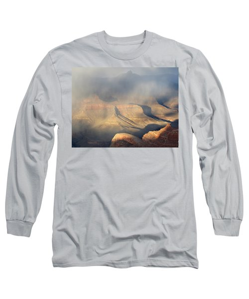 Storm Over The Grand Canyon Long Sleeve T-Shirt