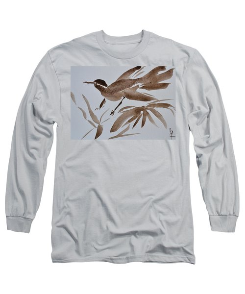 Sumi Bird Long Sleeve T-Shirt