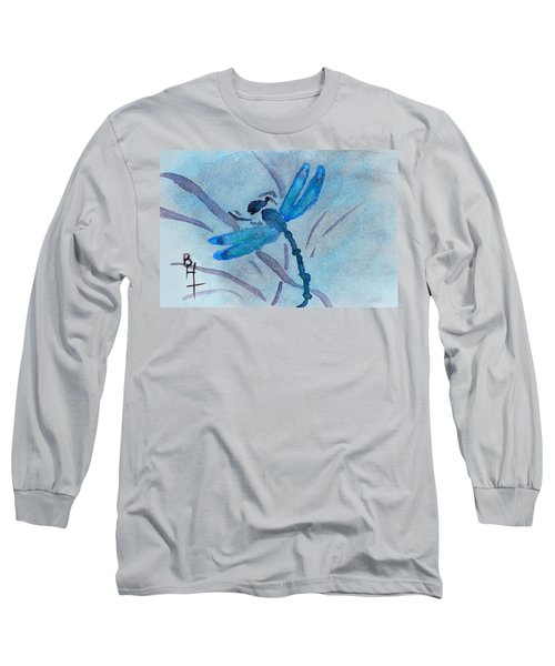 Sumi Dragonfly Long Sleeve T-Shirt