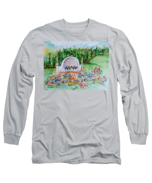 Summer Concert In The Park Long Sleeve T-Shirt