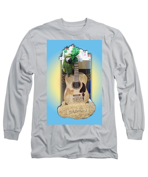 Summer Guitar Long Sleeve T-Shirt