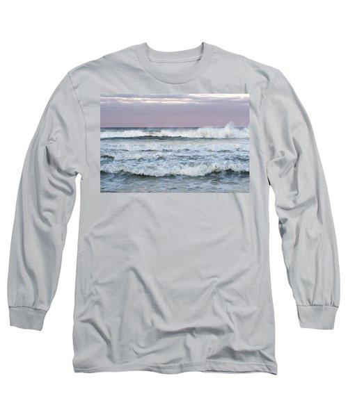 Summer Waves Seaside New Jersey Long Sleeve T-Shirt