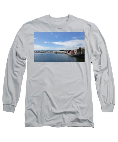 Summers End Capitola Beach Long Sleeve T-Shirt by Amelia Racca