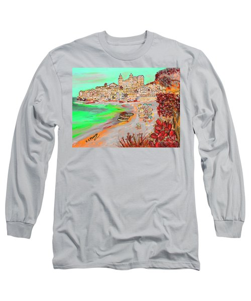 Summertime In Cefalu' Long Sleeve T-Shirt