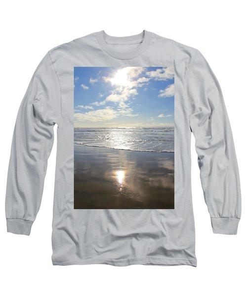 Sun And Sand Long Sleeve T-Shirt by Athena Mckinzie