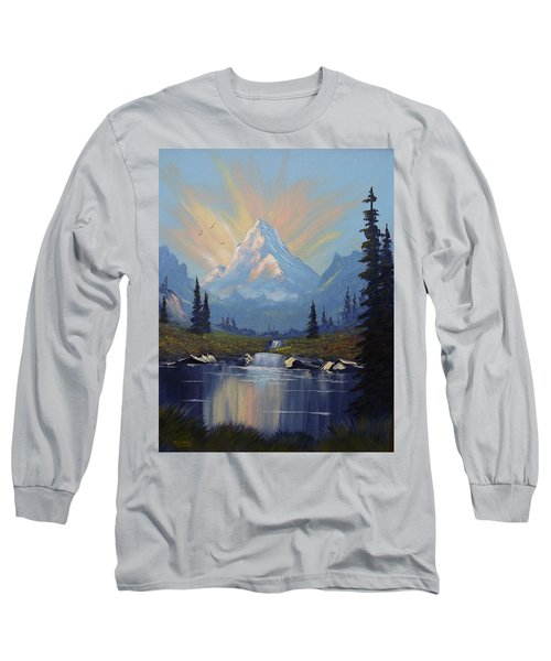 Sunburst Landscape Long Sleeve T-Shirt