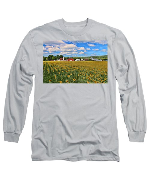 Sunflower Nirvana 17 Long Sleeve T-Shirt