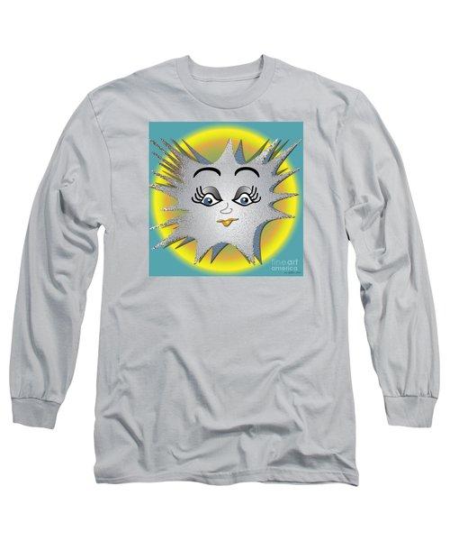 Long Sleeve T-Shirt featuring the digital art Sunny Boy by Iris Gelbart