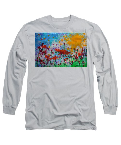 Sunny Day Long Sleeve T-Shirt by Jacqueline Athmann