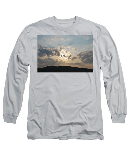 Long Sleeve T-Shirt featuring the photograph Sunrise 1 by George Katechis