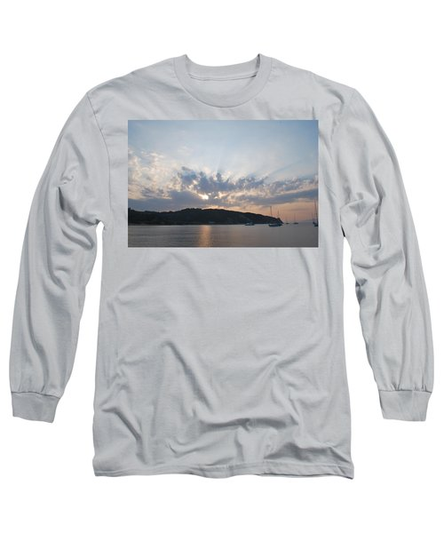Long Sleeve T-Shirt featuring the photograph Sunrise by George Katechis