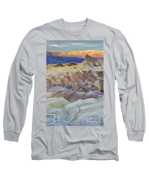 Sunrise In Death Valley Long Sleeve T-Shirt by Juli Scalzi