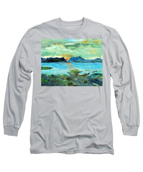 Sunset At Bic Long Sleeve T-Shirt