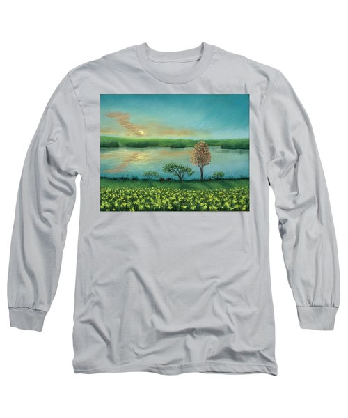 Sunset Lake B Long Sleeve T-Shirt