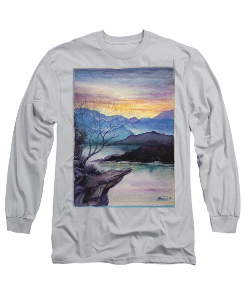 Sunset Montains Long Sleeve T-Shirt