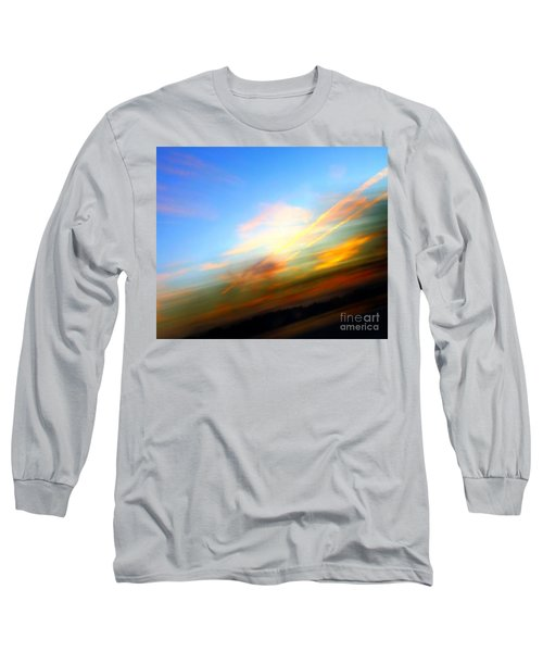 Sunset Reflections - Abstract Long Sleeve T-Shirt