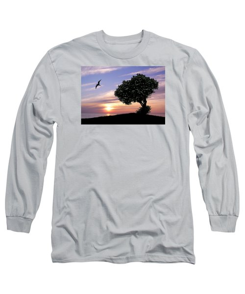 Sunset Tree Of Tranquility Long Sleeve T-Shirt