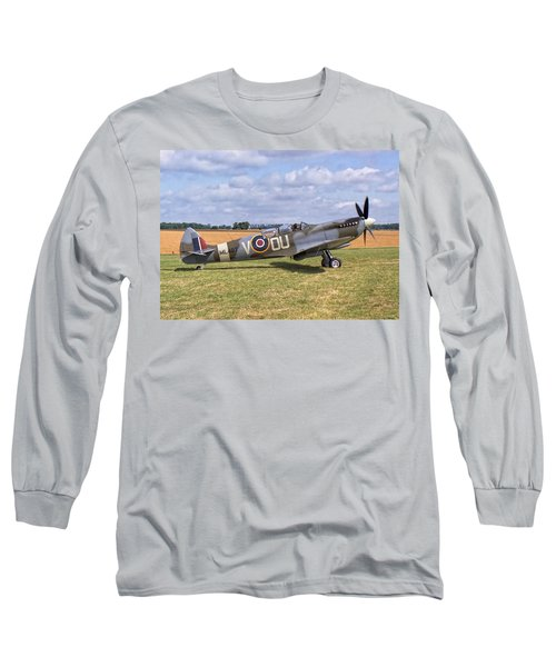 Supermarine Spitfire T9 Long Sleeve T-Shirt by Paul Gulliver