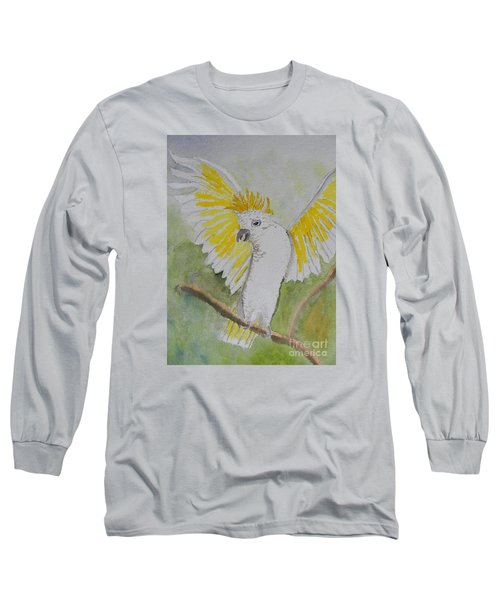 Suphar Crested Cockatoo Long Sleeve T-Shirt
