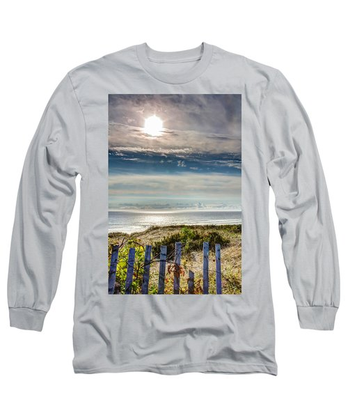 Surfers At Coast Guard Beach Long Sleeve T-Shirt